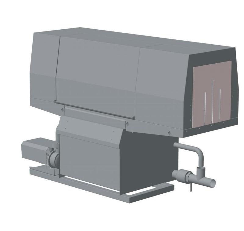 Туннельная моечная машина. Модель ТММ-01